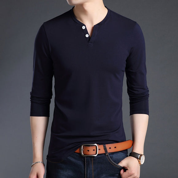 2019 New Fashion Brand T Shirts For Men V Neck Street WearTops Trending - Beltran's Enterprise