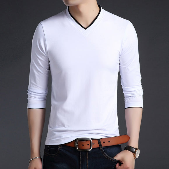 2019 New Fashion Brand T Shirts Men V Neck Street Wear - Beltran's Enterprise