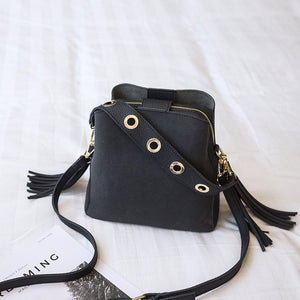 Women Suede Tassel Shoulder Bag Female Vintage Crossbody Bags - Beltran's Enterprise