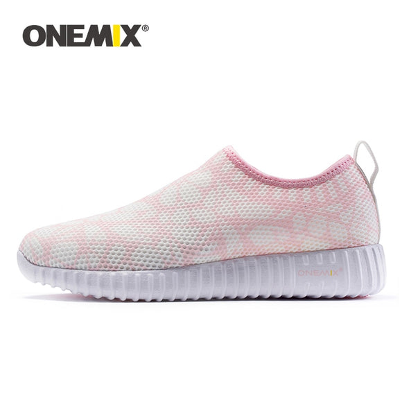 ONEMIX 2019 women sneakers light cool mesh shoes for women Deodorant insoles soft shoes - Beltran's Enterprise