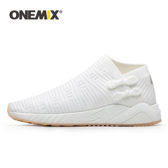 ONEMIX sneakers for women light cool breathable running shoes knitted vamp women shoes - Beltran's Enterprise