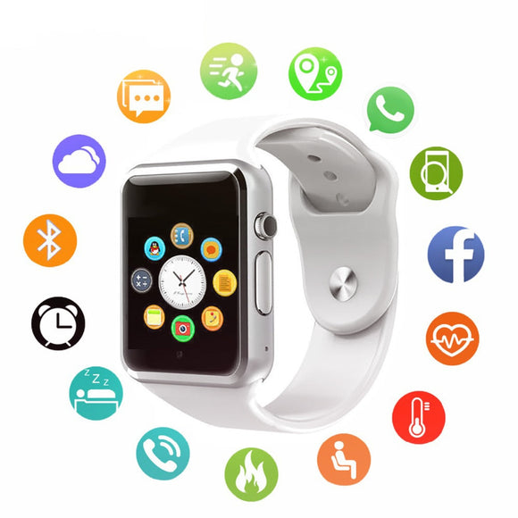 2019 New Smart Watch Clock Sync Notifier Support SIM TF Card Connectivity Apple iphone - Beltran's Enterprise