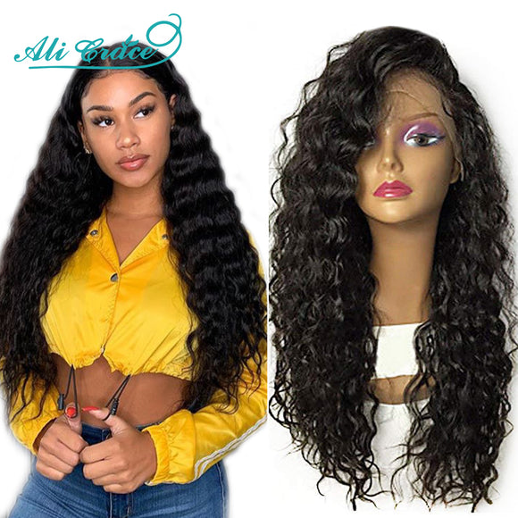 Ali Grace Hair Lace Front Human Hair Wigs for Women Brazilian Loose Wave Remy Hair Wig with Baby - Beltran's Enterprise