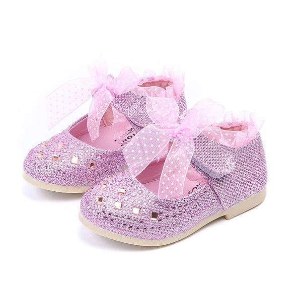 New Children Girl  Shoes Spring Baby Girls Kid shoes Princess Child Footwear Lace - Beltran's Enterprise