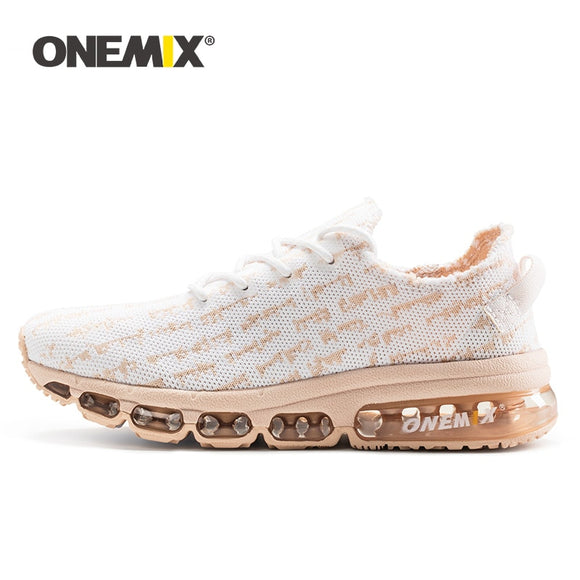 ONEMIX Women Running Shoes Lightweight Breathable Vamp Air Cushion Casual Sneakers - Beltran's Enterprise