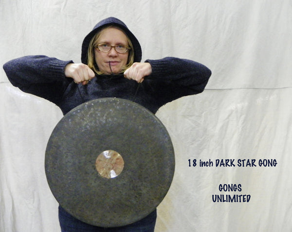 "18"" Dark Star Gong in the Hoodie"