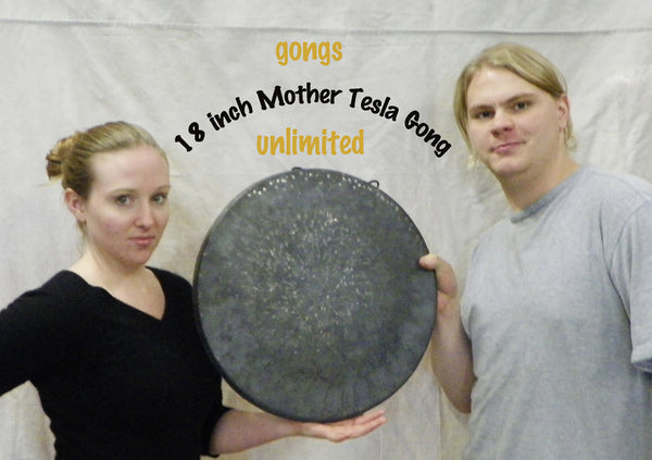 "The American Gong-thic and the 18"" Mother Tesla"