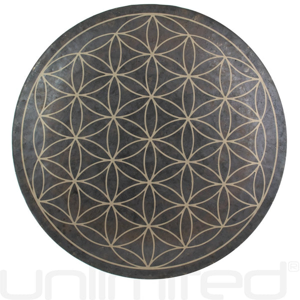 "A Sound Healing and Meditation with a 26"" Flower of Life Gong"