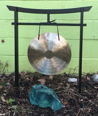 The Sacred Space Gong Stand