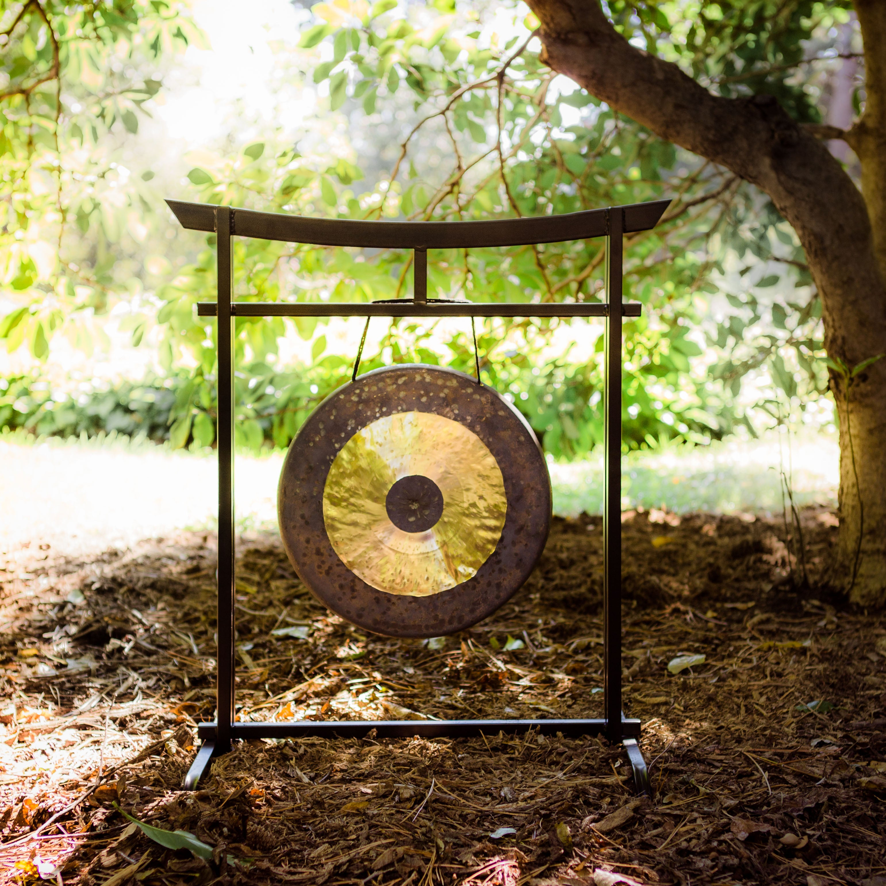 Gong Stand Designs : Quot to gongs on the sacred space outdoor gong stand