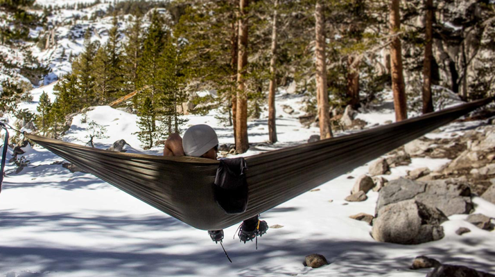 How to Stay Warm While Hammock Camping