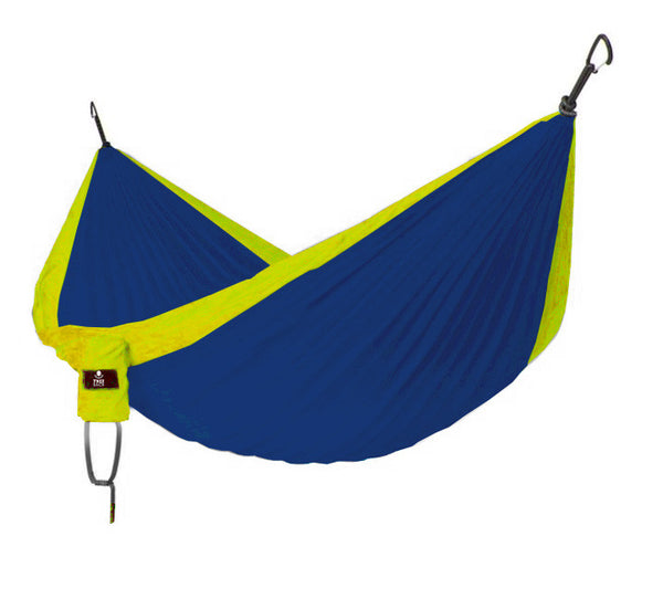 Tree Sack Hammock - Deep Blue/Yellow (Double)