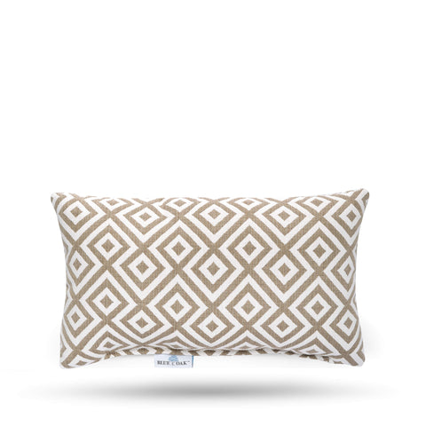 Lumbar Pillow Elements Burlap (2 Pack)