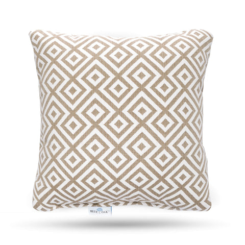 Toss Pillow Elements Burlap (2 Pack)