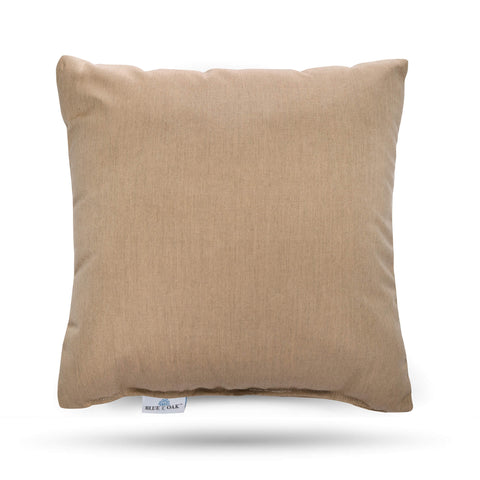 Toss Pillow Heather Beige (2 Pack)