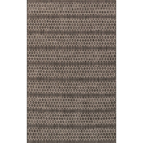 Isle Rug - Black Grey