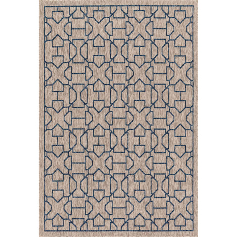Newport Rug - Grey Blue