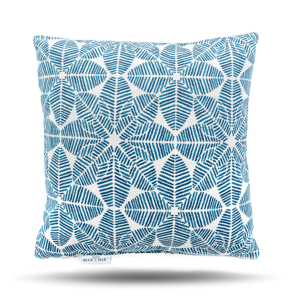 Toss Pillow Palmetto Azure (2 Pack)