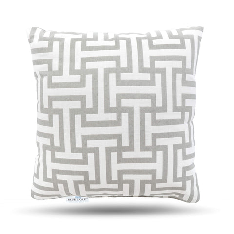 Toss Pillow Wyndham Silver (2 Pack)