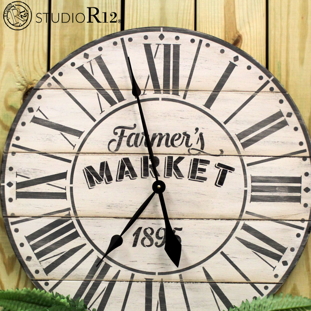 Tick-tock DIY Clocks  | StudioR12