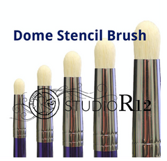 Dome Stencil Brushes : https://studior12.com/collections/brushes/products/dome-stencil-brush-set-swirl-stipple-scumble