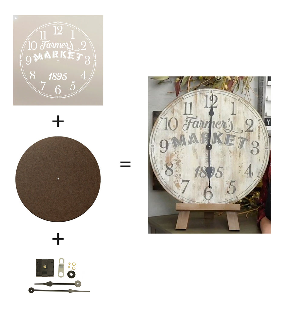 Clock,   			                 Clocks,   			                 Surface,   			                 wood surface,   			                 wood surface set,