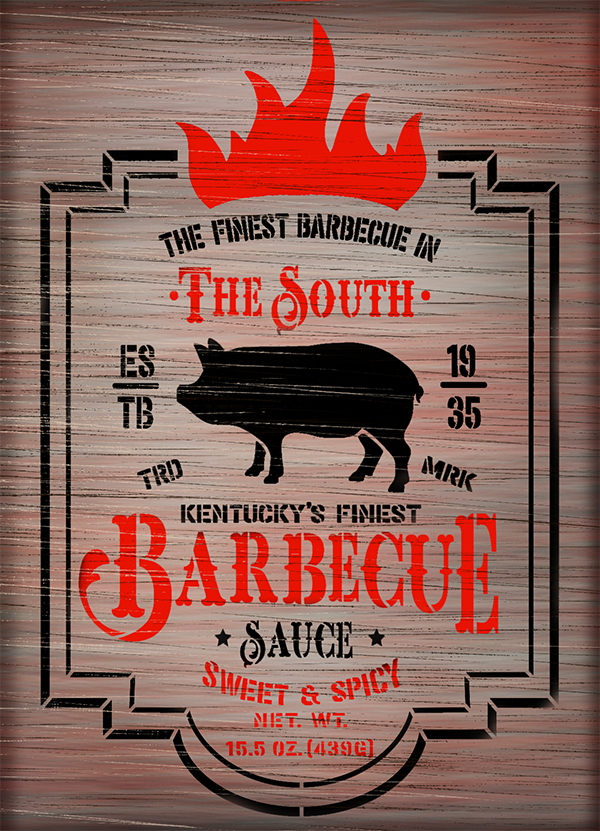 barbeque,   			                 BBQ,   			                 cabin,   			                 Country,   			                 Farmhouse,   			                 Home,   			                 Home Decor,   			                 Kentucky,   			                 Kitchen,   			                 mancave,   			                 outdoor,   			                 pig,   			                 pork,   			                 sauce,   			                 southern,   			                 stencil,   			                 Studio R 12,   			                 StudioR12,   			                 StudioR12 Stencil,   			                 vintage,