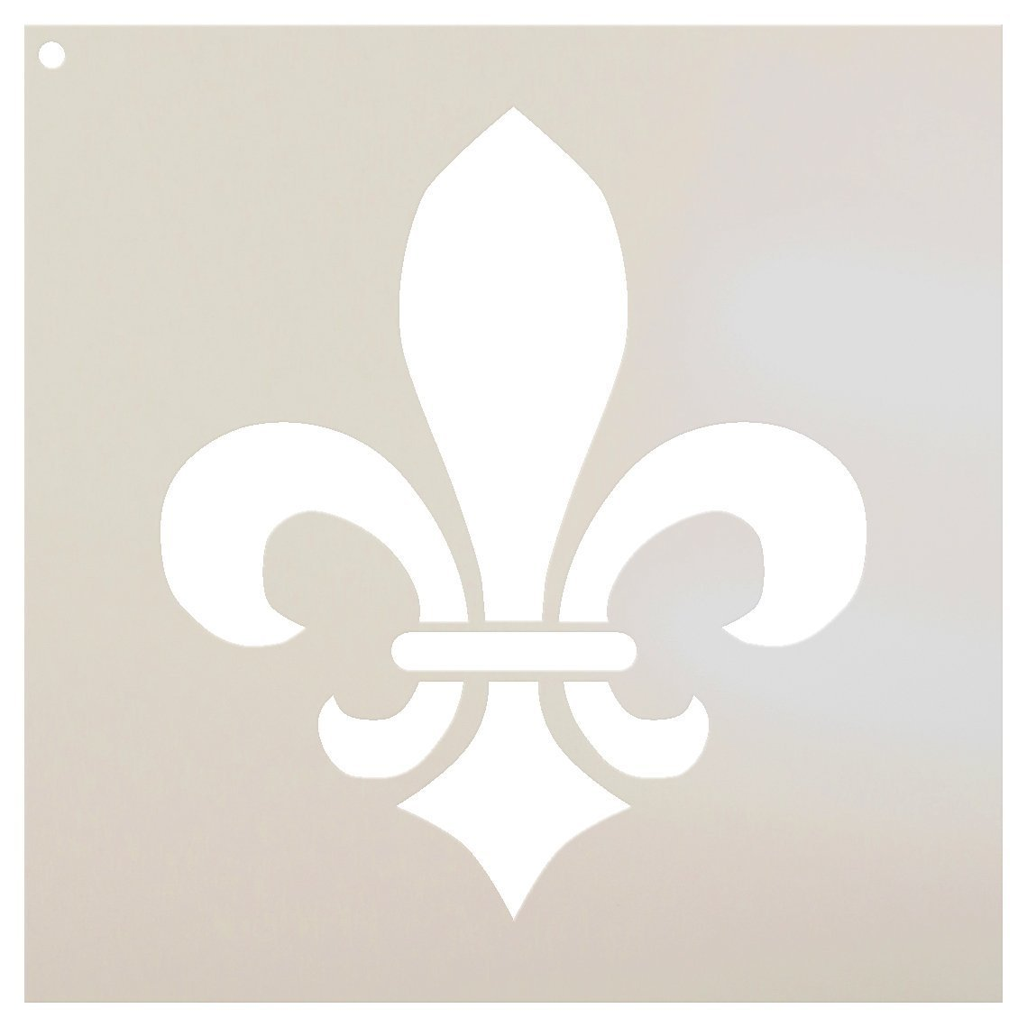 Fleur De Lis Stencil by StudioR12 | Versailles French Art - Reusable Mylar Template | Painting, Chalk, Mixed Media | Use for Journaling, DIY Home Decor - STCL923 SELECT SIZE