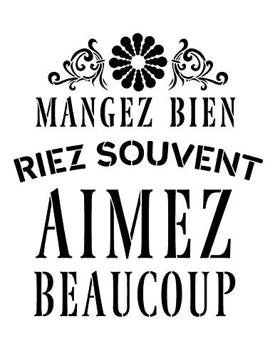 French,   			                 French Quotes,   			                 Home Decor,   			                 Mixed Media,   			                 Multimedia,   			                 Quotes,   			                 Sayings,   			                 Studio R 12,   			                 StudioR12,   			                 StudioR12 Stencil,