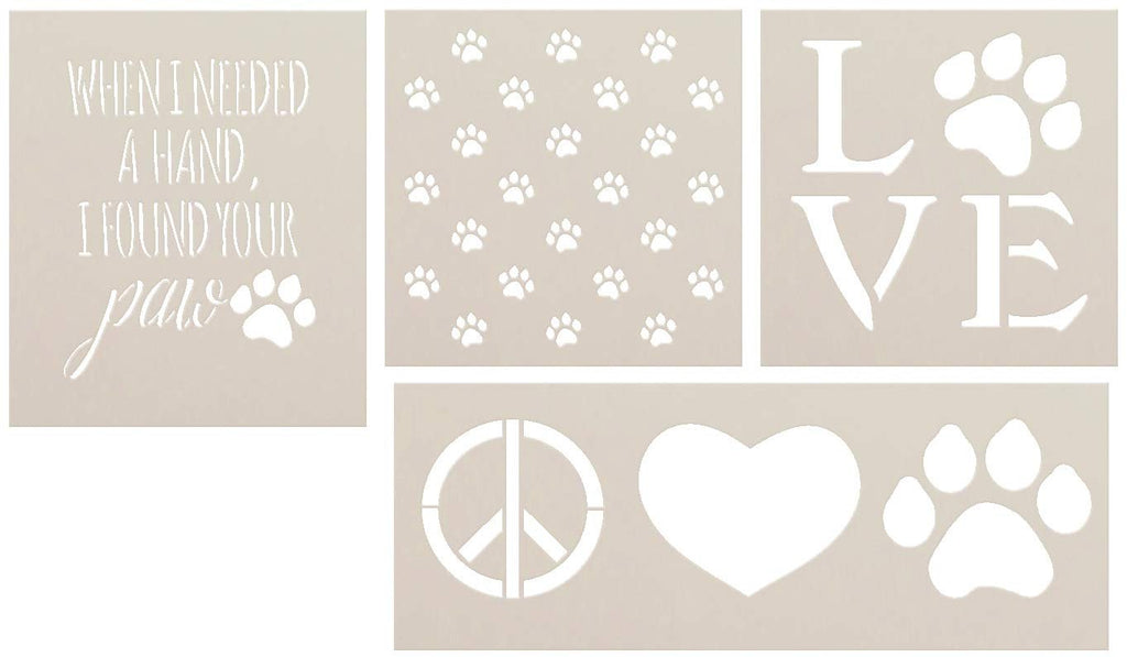 Art Stencils,   			                 Deck,   			                 Dog,   			                 Mixed Media,   			                 Multimedia,   			                 Pattern,   			                 Pet,   			                 Porch,   			                 Sign,   			                 Spring,   			                 Stencils,   			                 Studio R 12,   			                 StudioR12,   			                 StudioR12 Stencil,   			                 Summer,   			                 Template,   			                 Welcome,