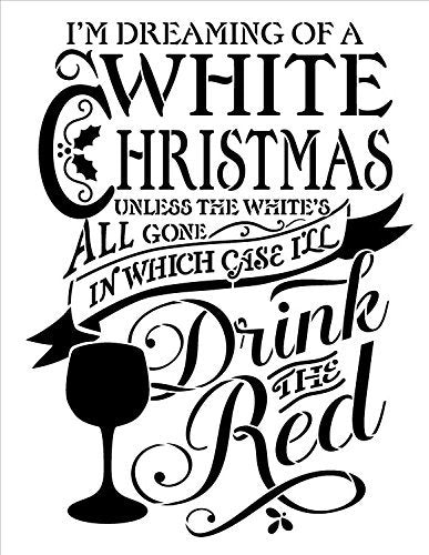 Bar,   			                 Christmas,   			                 Christmas & Winter,   			                 Drink,   			                 Food,   			                 Holiday,   			                 Stencils,   			                 Studio R 12,   			                 StudioR12,   			                 StudioR12 Stencil,   			                 Template,   			                 Wine,   			                 Wine Stencil,