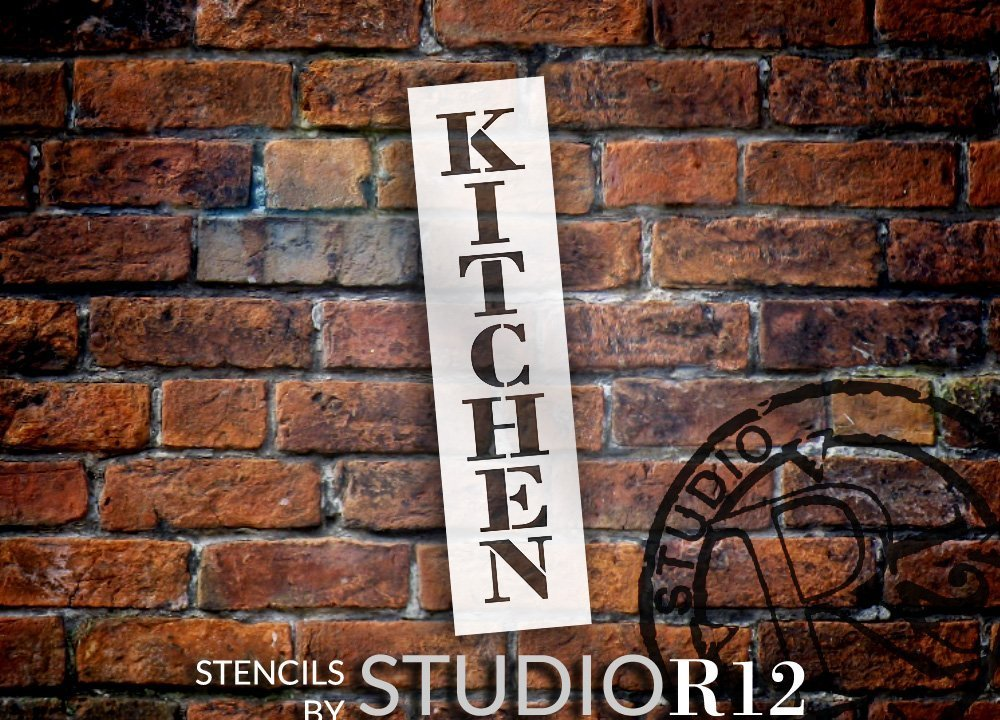 Country,   			                 Kitchen,   			                 Stencils,   			                 Studio R 12,   			                 StudioR12,   			                 StudioR12 Stencil,   			                 Template,