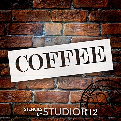 Coffee,   			                 country,   			                 Drink,   			                 Food,   			                 Stencils,   			                 Studio R 12,   			                 StudioR12,   			                 StudioR12 Stencil,   			                 Template,