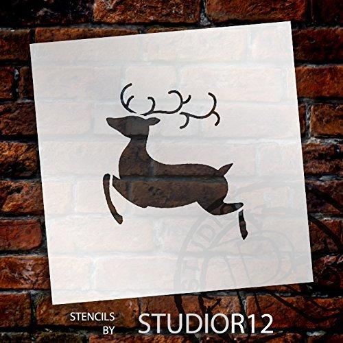 Art Stencil,   			                 Christmas,   			                 Christmas & Winter,   			                 Holiday,   			                 Mixed Media,   			                 Multimedia,   			                 Pattern,   			                 Stencils,   			                 Studio R 12,   			                 StudioR12,   			                 StudioR12 Stencil,   			                 Template,