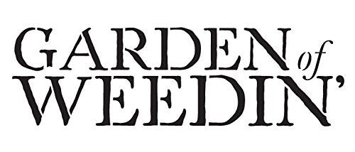 Garden of Weedin Stencil by StudioR12 | Simple Gardening Word Art - Mini 7 x 3-inch Reusable Mylar Template | Painting, Chalk, Mixed Media | Use for Journaling, DIY Home Decor - STCL1070_1