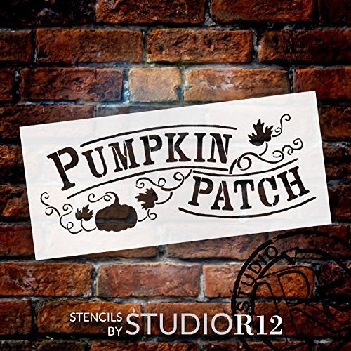 Art Stencil,   			                 Autumn,   			                 Country,   			                 Fall,   			                 Farm,   			                 Farmhouse,   			                 pumpkin,   			                 pumpkin patch,   			                 Sign,   			                 Stencils,   			                 Studio R 12,   			                 StudioR12,   			                 StudioR12 Stencil,   			                 Template,   			                 Thanksgiving,