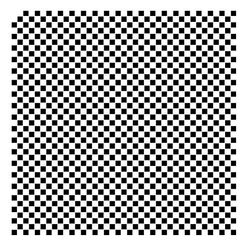 "1/4"" Checks Pattern Stencil - 12"" x 12"""