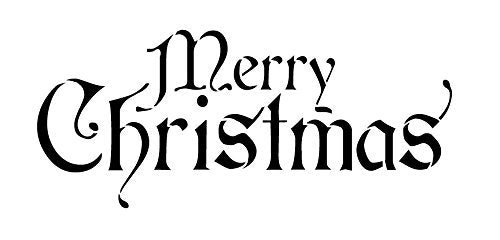 Christmas,   			                 Christmas & Winter,   			                 Holiday,   			                 stencil,   			                 stencils,   			                 Studio R 12,   			                 StudioR12,   			                 StudioR12 Stencil,   			                 word,   			                 word stencil,