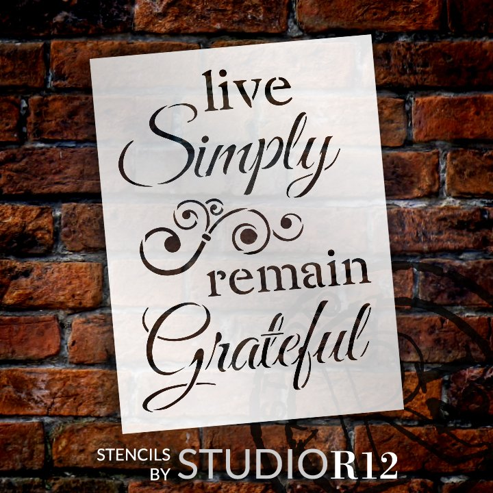 Art Stencil,   			                 Christian,   			                 Country,   			                 Faith,   			                 Home,   			                 Home Decor,   			                 Inspiration,   			                 Inspirational Quotes,   			                 Office,   			                 Primitive,   			                 Quotes,   			                 religious,   			                 Sayings,   			                 Stencils,   			                 Studio R 12,   			                 StudioR12,   			                 StudioR12 Stencil,   			                 Template,