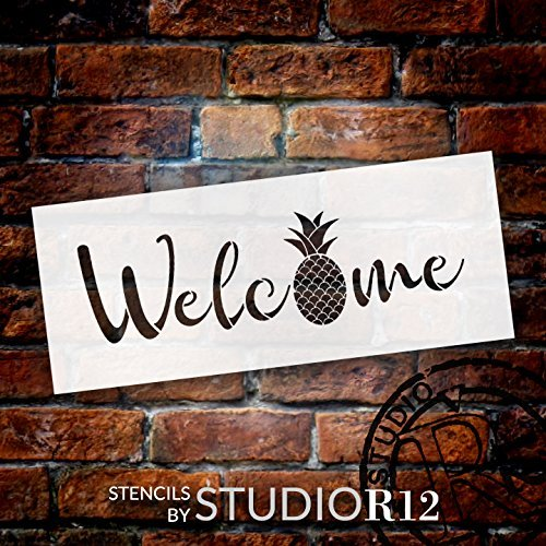 Boho,   			                 Deck,   			                 Jungalow,   			                 Patio,   			                 Porch,   			                 Sign,   			                 Spring,   			                 Stencils,   			                 Studio R 12,   			                 StudioR12,   			                 StudioR12 Stencil,   			                 Summer,   			                 Template,   			                 Welcome,   			                 Welcome Sign,