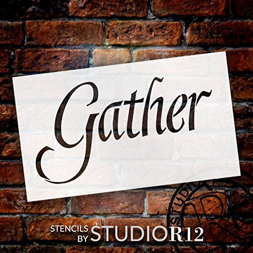 Country,   			                 Gather,   			                 Kitchen,   			                 Stencils,   			                 Studio R 12,   			                 StudioR12,   			                 StudioR12 Stencil,   			                 Template,