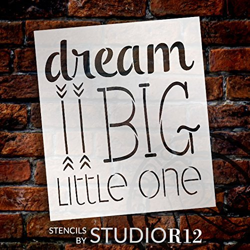 Art Stencil,   			                 Baby,   			                 Child,   			                 Family,   			                 Little one,   			                 Nursery,   			                 Stencils,   			                 Studio R 12,   			                 StudioR12,   			                 StudioR12 Stencil,   			                 Template,
