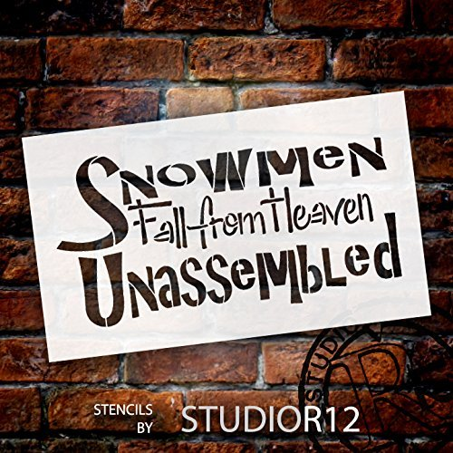 Art Stencil,   			                 Christmas,   			                 Christmas & Winter,   			                 snow,   			                 Stencils,   			                 Studio R 12,   			                 StudioR12,   			                 StudioR12 Stencil,   			                 Template,   			                 Winter,