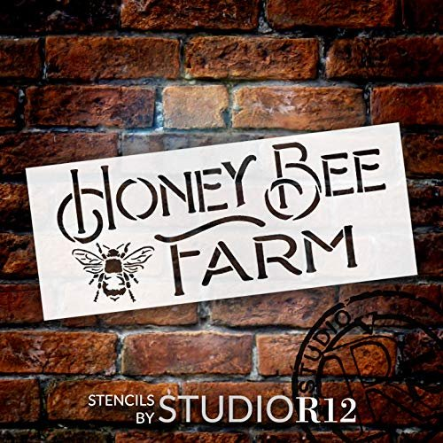 bee,   			                 bees,   			                 Country,   			                 farm,   			                 Farmhouse,   			                 garden,   			                 Home,   			                 Home Decor,   			                 honey,   			                 horizontal,   			                 Kitchen,   			                 long,   			                 market,   			                 spring,   			                 stencil,   			                 Stencils,   			                 Studio R 12,   			                 StudioR12,   			                 StudioR12 Stencil,   			                 summer,   			                 trendy,   			                 vintage,   			                 word stencil,