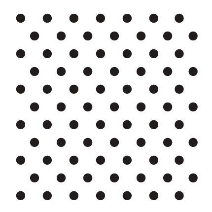 "1/4"" Dots Stencil by StudioR12 