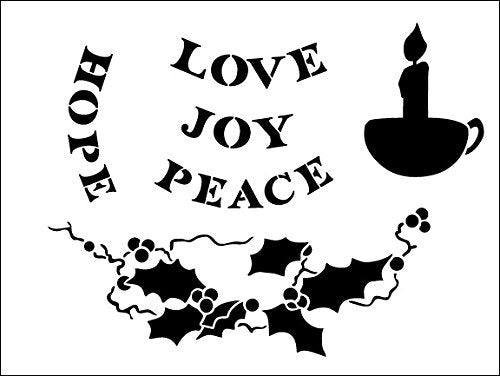 candle,   			                 Christmas,   			                 Christmas & Winter,   			                 Holiday,   			                 holly,   			                 hope,   			                 joy,   			                 peace,