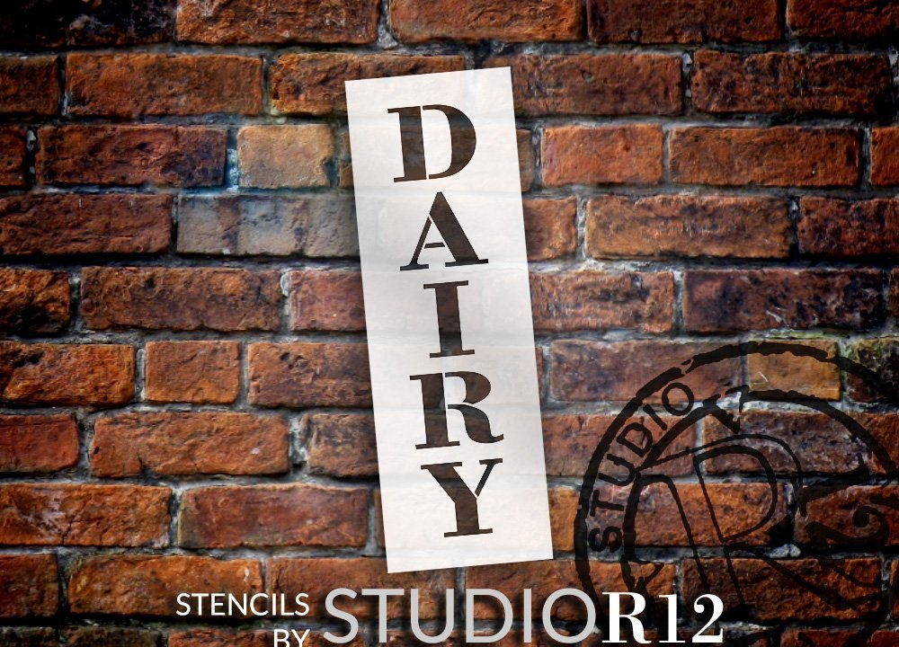 country,   			                 Cow,   			                 Creamery,   			                 Drink,   			                 Farm,   			                 Farm Animal,   			                 Farmhouse,   			                 Food,   			                 Home,   			                 Kitchen,   			                 Stencils,   			                 Studio R 12,   			                 StudioR12,   			                 StudioR12 Stencil,   			                 Template,