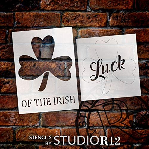 clover,   			                 diy wood sign,   			                 fun,   			                 Holiday,   			                 Home,   			                 Home Decor,   			                 Irish,   			                 luck,   			                 March,   			                 paint wood sign,   			                 Quotes,   			                 Sayings,   			                 shamrock,   			                 spring,   			                 stencil,   			                 Stencils,   			                 Studio R 12,   			                 StudioR12,   			                 StudioR12 Stencil,