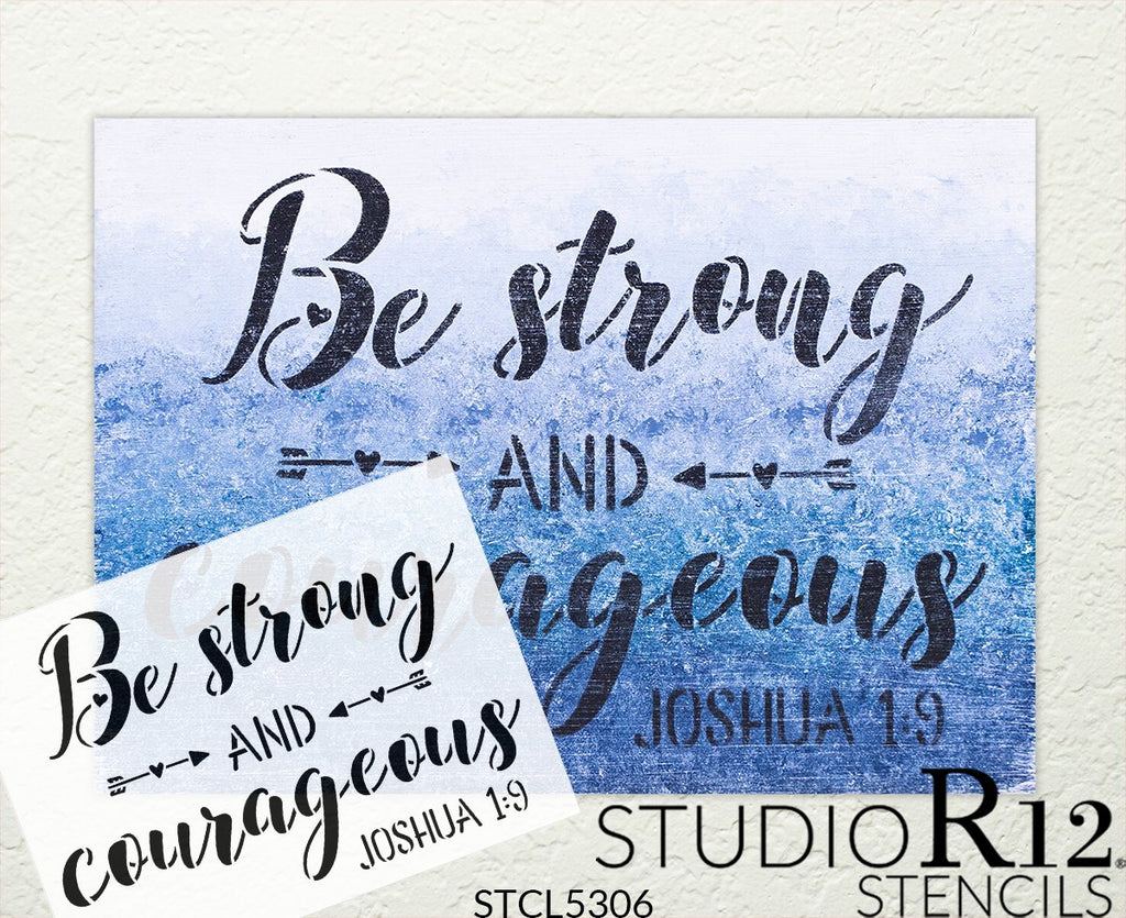 adventure,   			                 arrow,   			                 attitude,   			                 bible verse,   			                 christian,   			                 courage,   			                 cursive,   			                 Daily inspiration,   			                 diy,   			                 diy decor,   			                 diy home decor,   			                 diy stencil,   			                 do it yourself,   			                 encourage,   			                 faith,   			                 Home Decor,   			                 Inspiration,   			                 Motivation,   			                 Motivational,   			                 nursery,   			                 script,   			                 stencil,   			                 strong,   			                 Studio R12,   			                 StudioR12,