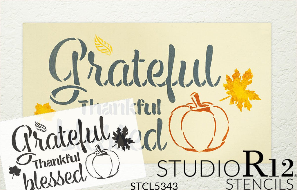 Blessings,   			                 Craft,   			                 DIY,   			                 Grace,   			                 Home Decor,   			                 Inspirational,   			                 Mylar,   			                 Paint,   			                 Reusable Template,   			                 Stencil,   			                 StudioR12,   			                 Thanksgiving,   			                 Wood Sign,